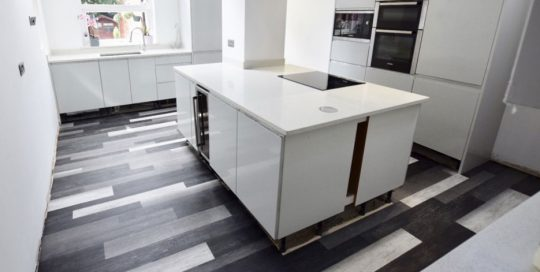 Polyflor Kitchen Flooring Fitters Sale M33
