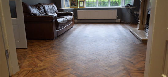 Parquet Flooring Chorlton | Luxury Vinyl Tile installation