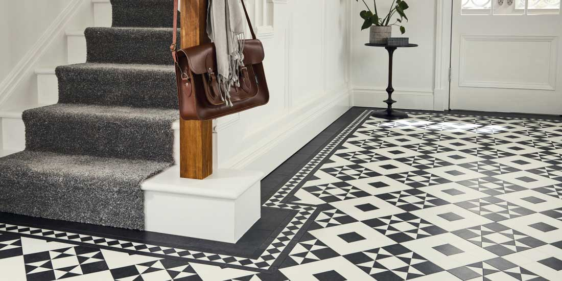 Clifton from Karndean's Heritage Collection of luxury vinyl tiles (LVT)